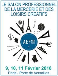 Salons textiles interstyleparis le portail du for Salon loisirs creatifs paris