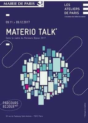 materio talk Expo Ateliers de Paris