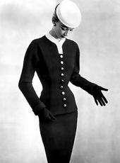 tailleur balenciaga 1952