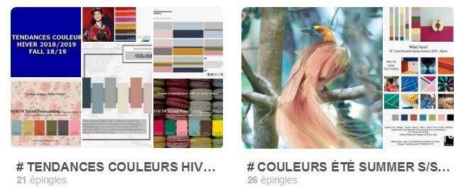 tableaux couleurs sur Pinterest