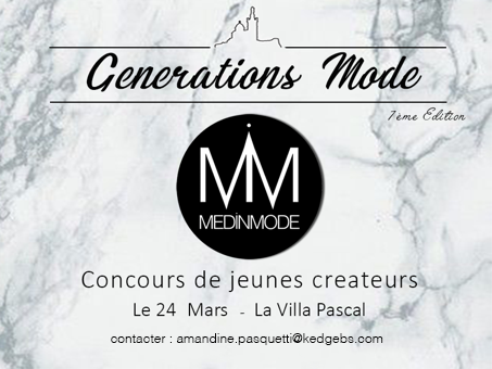concours generations mode