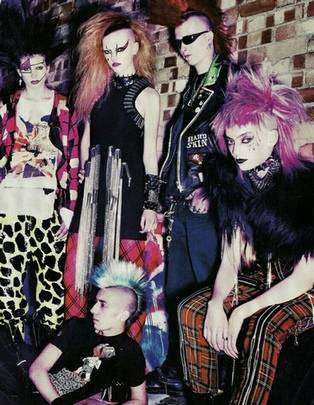 la mode punk au Royaume Uni