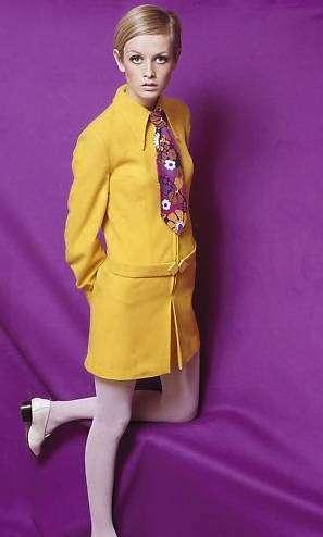 Mary Quant - modèle Twiggy