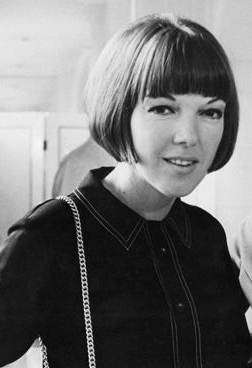 Mary Quant portrait