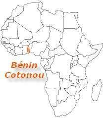 carte Afrique Bénin
