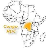 carte africa Congo RDC