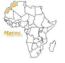 carte africa Maroc