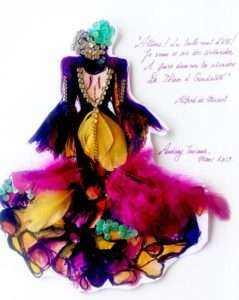 Diana d'Orville Lauréat concours mars 19 thème Andalouse.