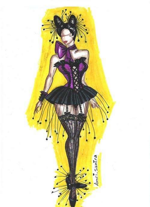 Samira Amri Gothic Lolita